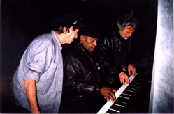 Johnnie at piano Richards & Leavell